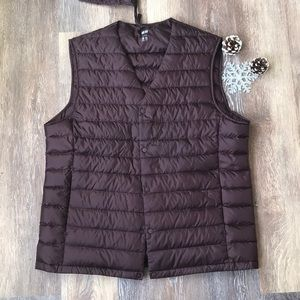 💫 Uniqlo Packable Ultra Light Down Puffer Vest 💫